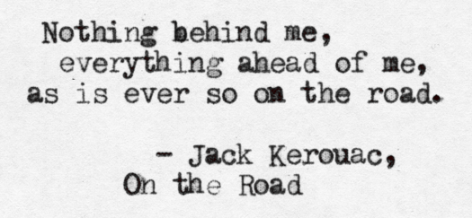 On the Road - Quote